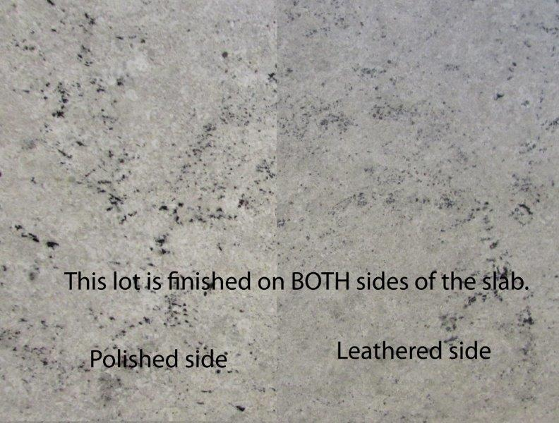 Colonial White Polished And Leathered Lot 1 Tropical Stone