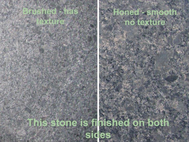 Brushed Finish Marble : Antique brushed honed leathered tropical stone